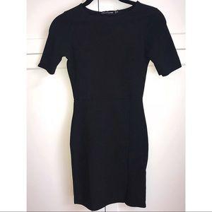 PrettyLittleThing Short Sleeve Bodycon Mini Dress